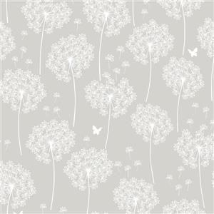 Nuwallpaper Treetops Wallpaper Lowe S Canada Dandelion Wallpaper Neutral Wallpaper Nuwallpaper