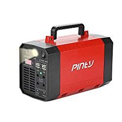 Pinty Portable Uninterrupted Power Supply 300w Ups Battery Backup Rechargeable Generator Power Source With Ac Inverter Usb Dc 12v Outputs For Outdoors And I Ups Batteries Battery Backup Solar Power Source