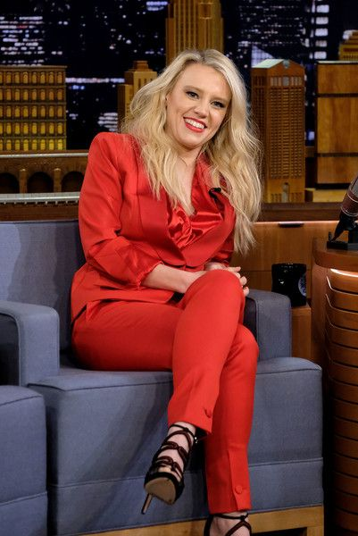 Actress/comedian Kate McKinnon visits the 'The Tonight Show Starring Jimmy Fallon.'
