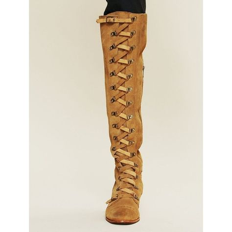 74238a7d119 Free People Jeffrey Campbell Johnny Tall Boot ( 348) ❤ liked on Polyvore