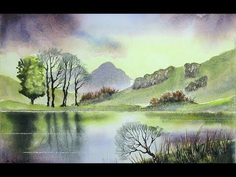 Youtube Aquarelle Landschaften