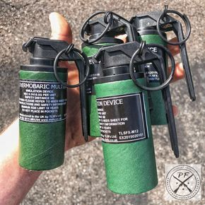 Civilian Legal Flashbangs & Thermobaric Grenades | firearms
