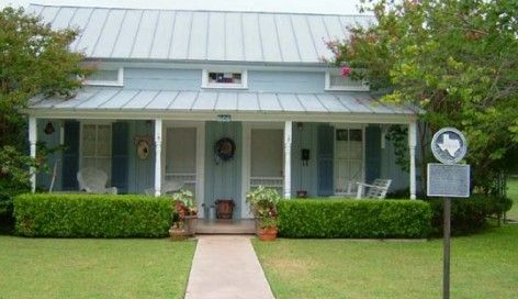 blue cottage fredericksburg texas fredericksburg tx pinterest