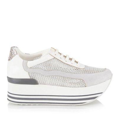 Detaylari Goster Fear Beyaz Lame White Silver Spor Ayakkabi Vans Old Skool Sneaker Women Shoes Vans Sneaker