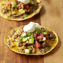 Mexican Chicken and Bean Pizzas