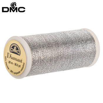 Light Gold Diamant Metallic Hand Embroidery Thread Hand
