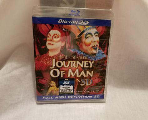 Imax Cirque Du Soleil: Journey of Man in 3D Blu ray | DVDS ...