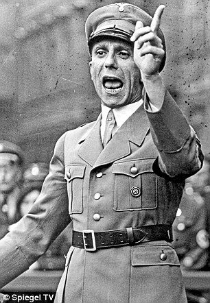 Minister of Propaganda, Joseph Goebbels