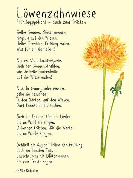 Lowenzahnwiese Elkes Kindergeschichten Kindergedichte Geschichten Fur Kinder Kinder Gedichte