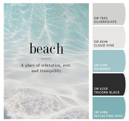 Bedroom Paint Color Schemes And Design Ideas Beach Paint Colors