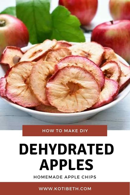 How To Dehydrate Apples With A Dehydrator Recipe In 2020 Dehydrated Apples Apple Chips Recipe Dried Apple Chips