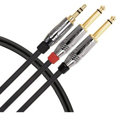 Livewire Elite Interconnect Y Cable 3 5 Mm Trs Male To 1 4 Interconnect Cable Livewire Trs Best Amazon Products Things To Sell
