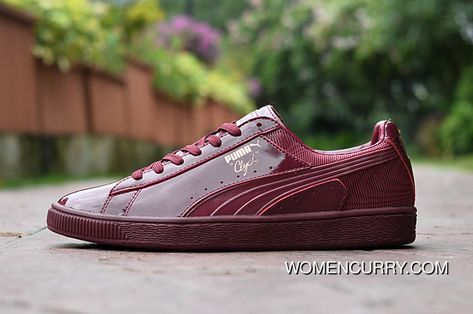 Puma CLYDE WRAITH KPU BURGUNDY New Style  5d620abfd