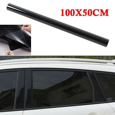 Ad Ebay 100x50cm Uncut Roll Window Tint Dyed Film Feet For Car