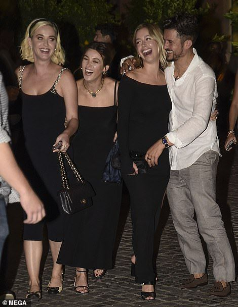Photo of A-list guests party ahead of Misha Nonoo's wedding in Rome