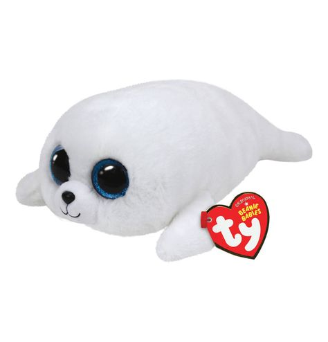Ty Beanie Boo ICY the blue Seal Sparkle The Special Soft Toy