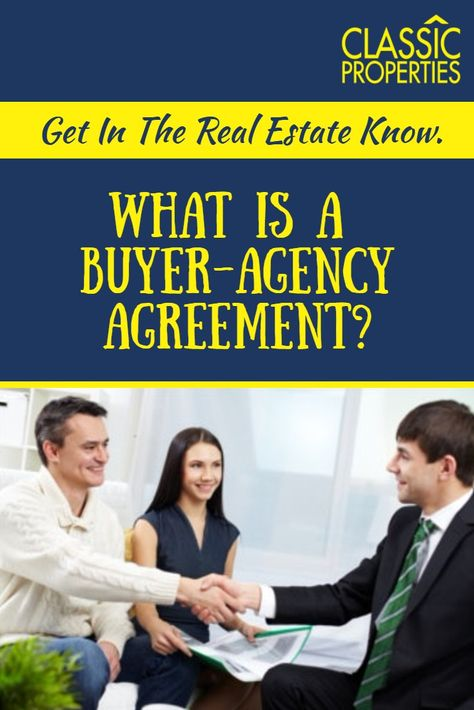 What is a Buyer-Agency agreement and why it shouldnu0027t scare you - Business Agency Agreement