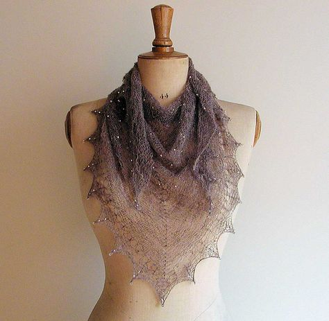 Emily Dickinson Shawl. So ethereal, delicate and beautiful!