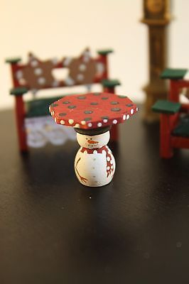 Dollhouse Miniature Dining Room A 1:48 Quarter Inch scale 1//4 Y41 Dollys Gallery