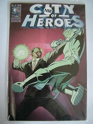 City of Heroes Blue King Studios Comic FEB 9 - Graphic Novel ref269,Please see full description and photo for condition report. Feel free to ask any questions. Thank you., #OtherA-Z