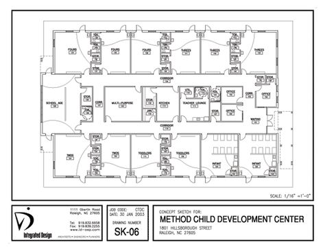 Floor Plan Of Kids World Day Care In Sac City Ia  Day Care Center
