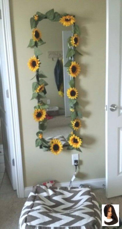 Diy Room Ideas Tumblr Decoration Mirror 42 Ideas Sunflower Room