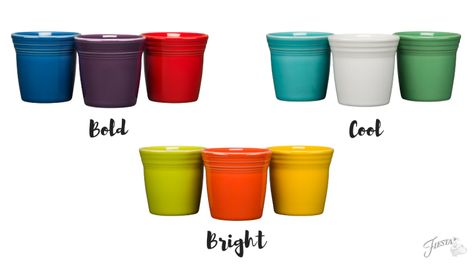 Fiesta Dinnerware New Designs For 2019 Blog Flower Pots Pot At 3 ½ Diameter And Tall It S Perfect Showing Off Your