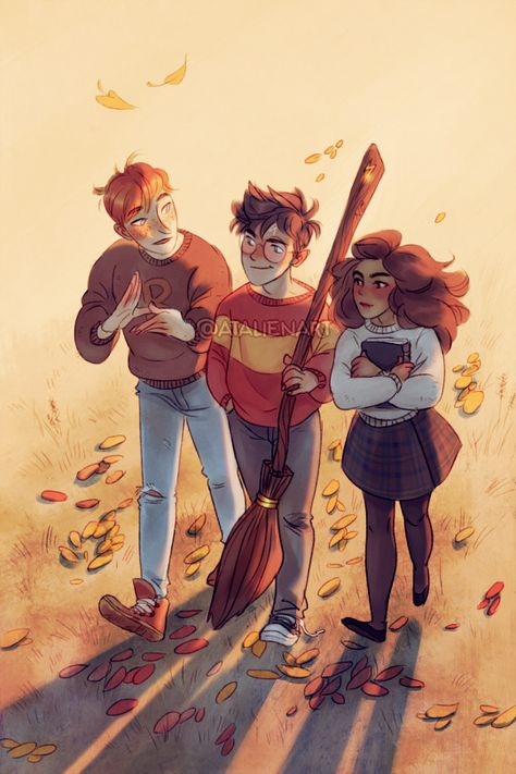 Golden trio (zine piece) :)  ♥ 6679 NOV 15TH #HARRY POTTER #HP #HERMIONE GRANGER #RON WEASLEY #ARTISTS ON TUMBLR #THOUGHT I'LL POST THIS DRAWING #I DID IT FOR THE HP ZINE #I HOPE YOU GOT YOUR COPIES :) #I HOPE I CAN SHARE IT #IF NOT THEY'LL MURDER ME OR SOMETHING #IF NOT MAYBE I'LL GET MY COPY TOO XD #MY ART str