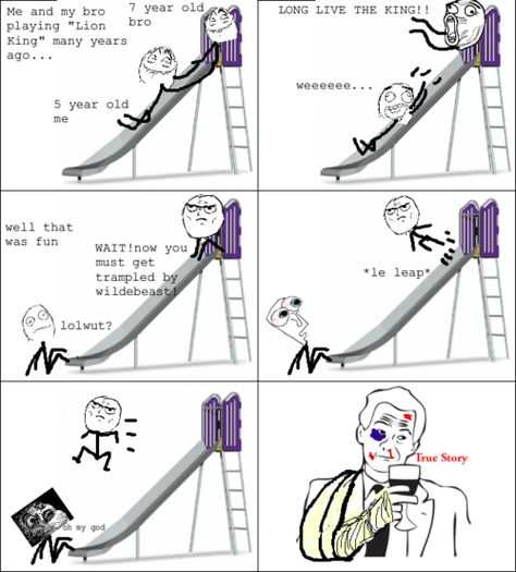 meme comics | Playing Lion King comics Rage Comic