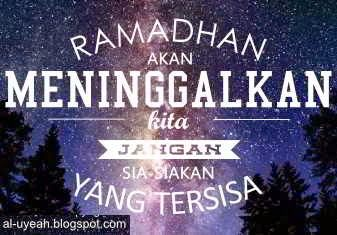 Kata Bijak Islami Akhir Ramadhan