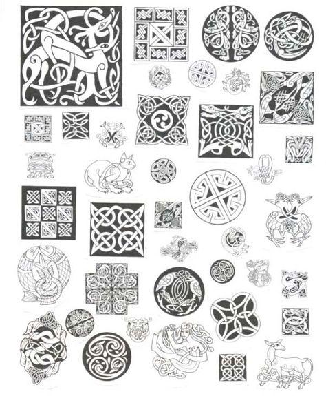 Dessins Celtiques Handverk