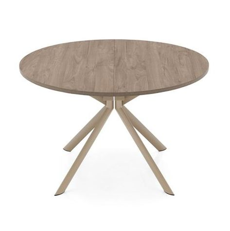 Table Ronde Extensible Design Of Table Ronde Design Bois Pied M Tal ...