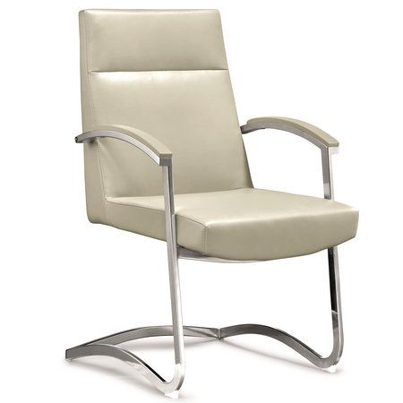 Modern Boardroom Reception Armchair Companion Visitor Leather
