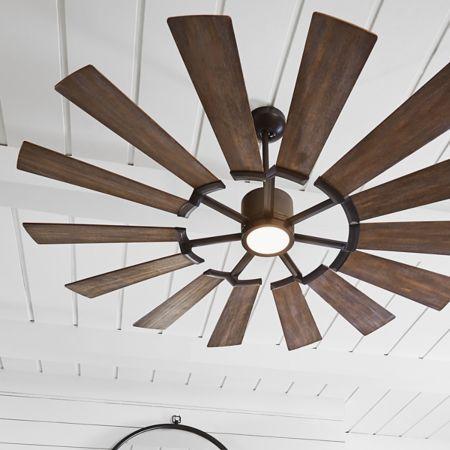 Prairie Ceiling Fan Ventilador De Teto Ventiladores De Teto