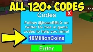 120 Codes All Roblox Mining Simulator Codes 2018 Roblox Mining