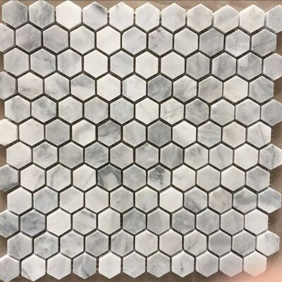 Purple Carrara 12 X 12 Marble Mosaic Tile In 2020 Marble Mosaic Tiles Stone Mosaic Tile Mosaic Tiles