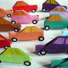 折り紙で車の簡単な折り方 立体から平面まで 作り方をわかりやすく解説 大人女子のライフマガジンpinky ピンキー 折り紙 車 折り紙 手作り プレゼント 100均