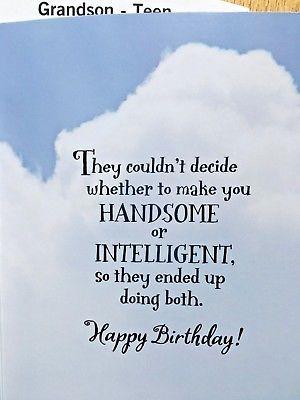 Pin On Grandson Birthday Cards