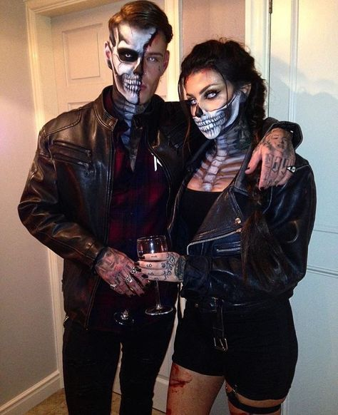 Check couple halloween costumes for adults unique, halloween costumes couples cr. - Happy Halloween - Best Day on Year 2019 Halloween Costume Diy, Couples Halloween Costumes Creative, Mode Halloween, Halloween Outfits, Sexy Couples Costumes, Outdoor Halloween, Halloween 2019, Family Halloween, Halloween Make Up Scary
