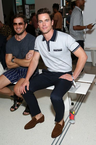 Actor Matt Bomer attends the Todd Snyder fashion show during NYFW: Men's July 2017 at Cadillac House on July 10, 2017 in New York City.