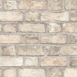 Black Scandinavian Block Print Tulip Wallpaper 2535 20651 Etsy In 2021 Brick Wallpaper Kitchen Brick Wallpaper Rustic Faux Brick Wallpaper