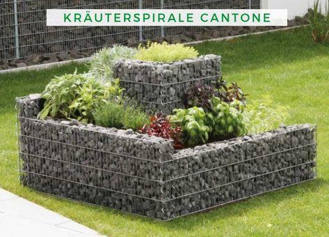 Terrando Krauterspirale Cantone Diese Gabionen Krauterschecke Ist Ideal Fur Terrasse Und Garten Das Produkt Wird Bepflanzung Garten Landschaftsbau Vorgarten
