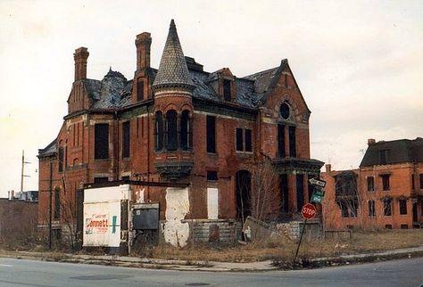 Ransom Gillis House Detroit Com Imagens Lugares Abandonados
