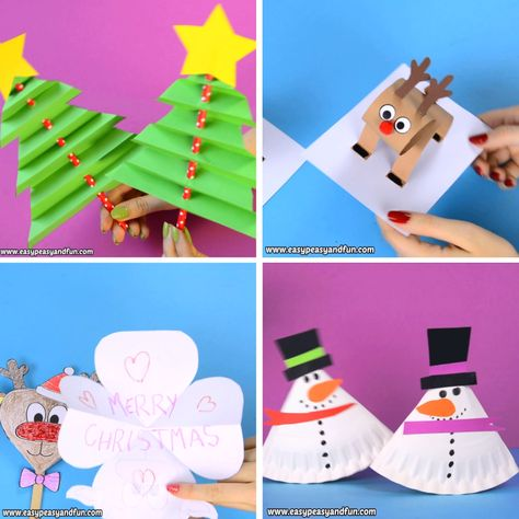 We have a whole bunch of easy Christmas Crafts for Kids, from simple art ideas to wonderful handmade ornaments and gifts kids can make.