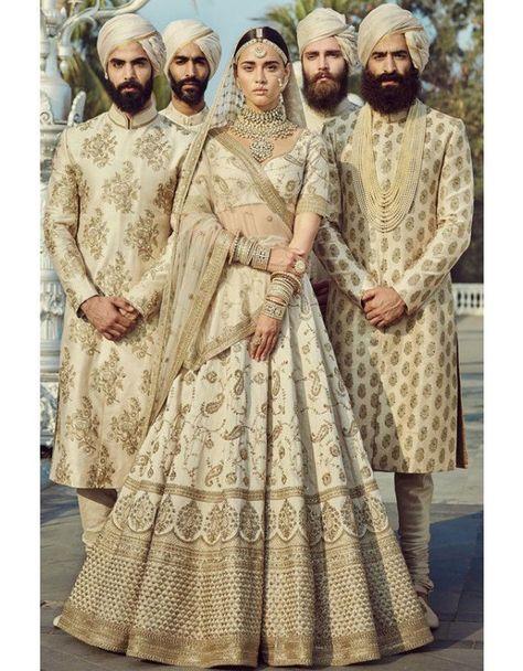 Pearl White Designer Lehenga Choli