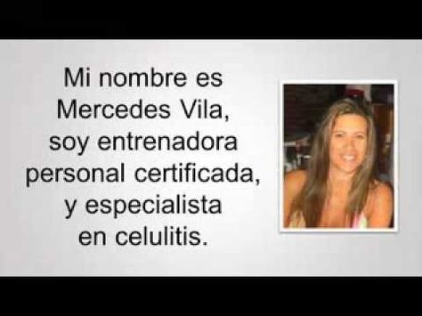 celulitis edematosa | tratamientos naturales para la celulitis - YouTube