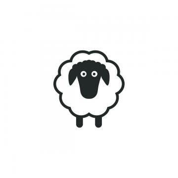 قالب شعار الأغنام خروف المرسومة أبيض وأسود شعارات أيقونات أيقونات القالب Png والمتجهات للتحميل مجانا Sheep Logo Sheep Template Sheep Silhouette