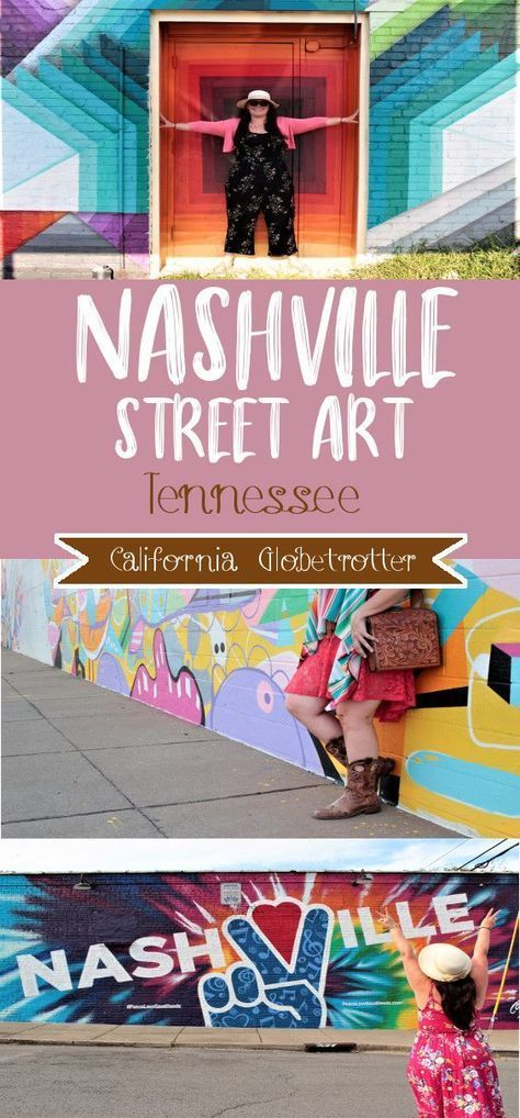 Easy Wall Murals To Find In Nashville Nashville Murals Nashville Trip Nashville Downtown