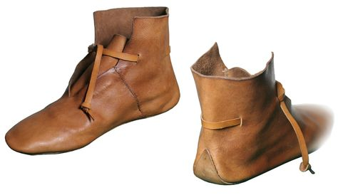 Viking Boots X sec., Medieval - Medieval Clothing - Medieval shoes boots - Viking Boots X sec. Made entirely by hand using medieval techniques.