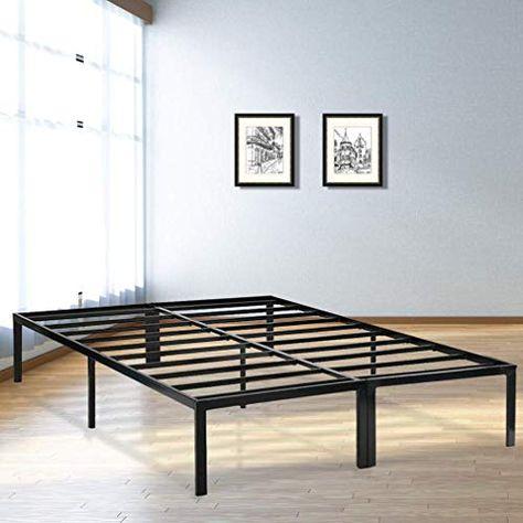 Bed Frame Metal Platform Bed Frame Base Mattress Foundation Frame